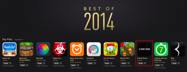 Apple's Best Apps for 2014, apps, games, apple