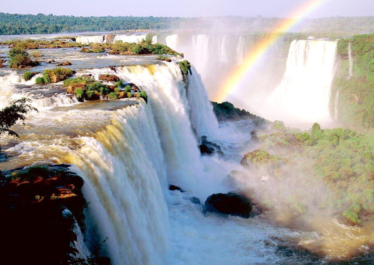 Abes sp foto do dia cataratas do igua u for Papel de pared argentina