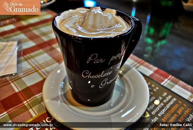 Chocolate quente da Casa da Velha Bruxa