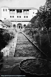 Palacio del Generalife. Palace of Generalife. Alhambra. Granada. Spain.