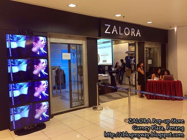 ZALORA Pop-up Store Gurney Plaza Penang