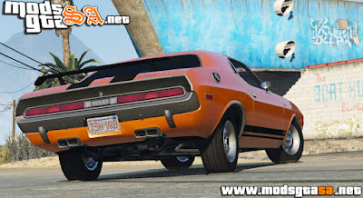V - Dodge Challenger 1970 RT 440 Six Pack GTA V PC
