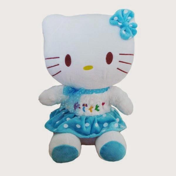 Gambar boneka hello kitty lucu untuk anak