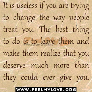 It is useless if you are trying to change