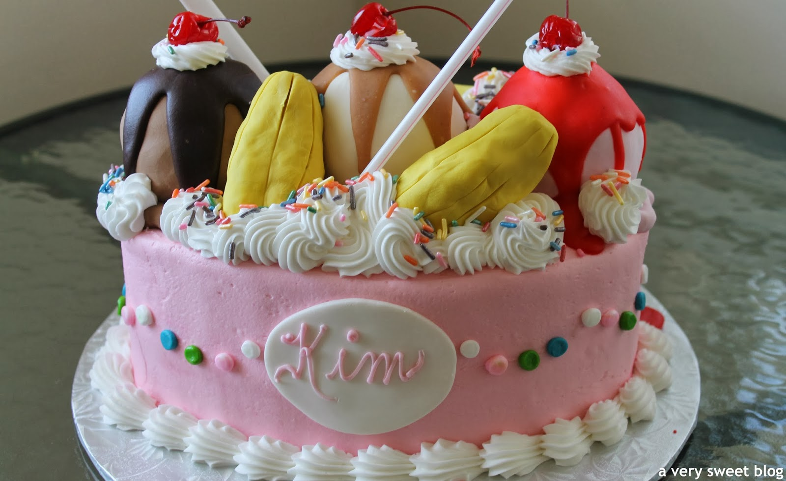 Birthday Cake Ice Cream Bananas Image Inspiration of Cake and