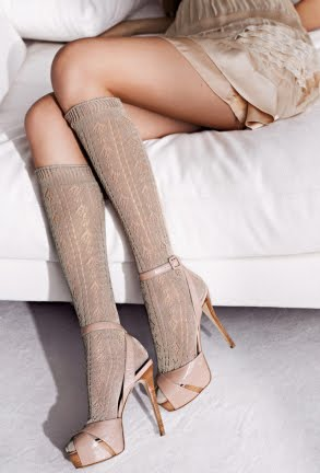 calcetines mujer Calzedonia 2012
