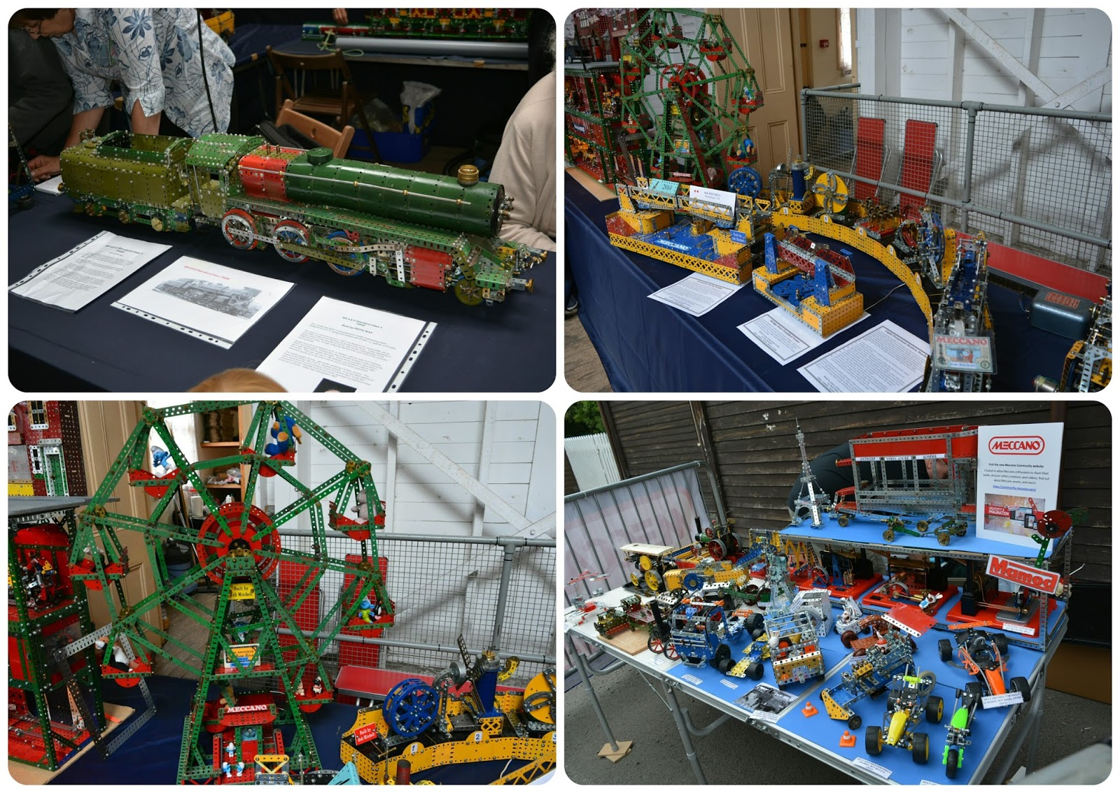 Blists Hill Victorian Town Meccano Exhibition