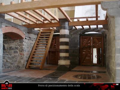 come fare solaio in legno in una piccola stanza : DOMUS project: Costruzione 103: Scala in legno