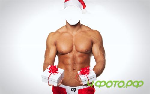 photoshop g��l� ve yak���kl� Noel Baba kost�m indir
