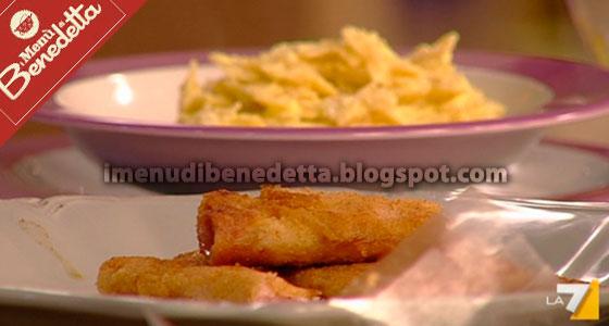 Pasta allo Zafferano e Involtini Fritti di Benedetta Parodi