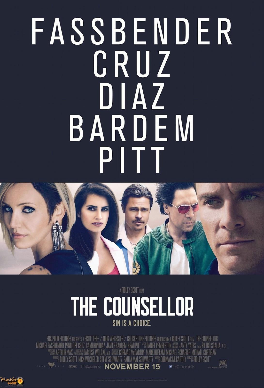 xem phim Ngài Luật Sư - The Counselor (2013) full hd vietsub online poster