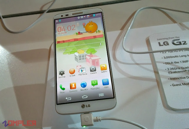 LG G2 India Launch Hands on