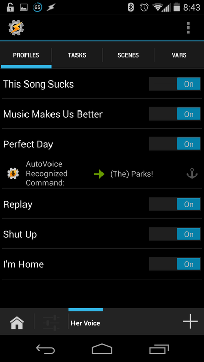 Tasker and Autovoice Android App Free Download