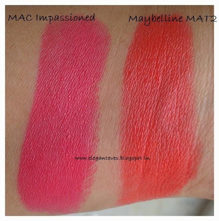 Maybelline Bold Matte Lipstick MAT 2