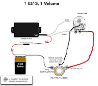 Emg Pickup Wiring One Pick Up Volume,Pickup.Free Download ...
