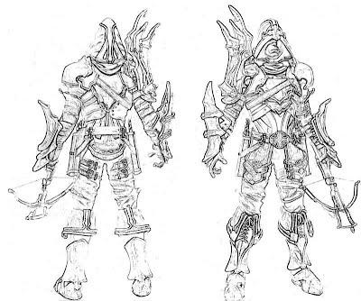Diablo 3 Demon Hunter Weapon Yumiko Fujiwara