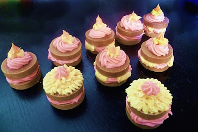 cupcake soaps, diva soap, piping soap