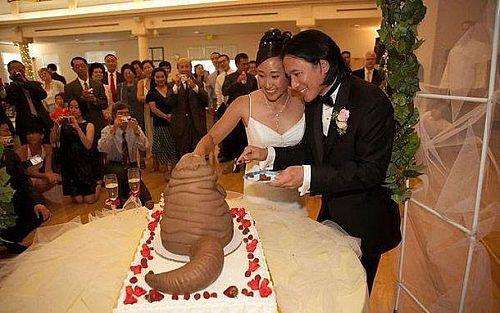 Strange Birthday Cake