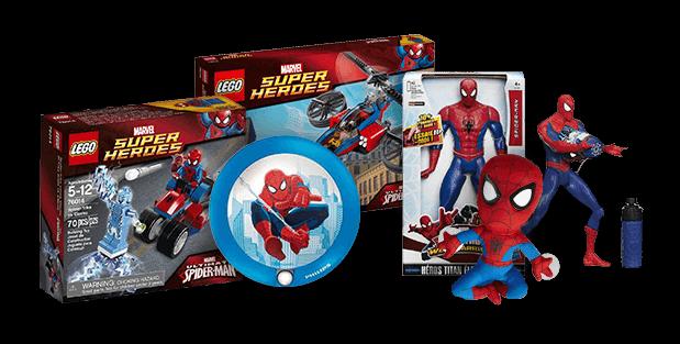 Jeu Concours Carrefour 20 Lots Spider-man à gagner !