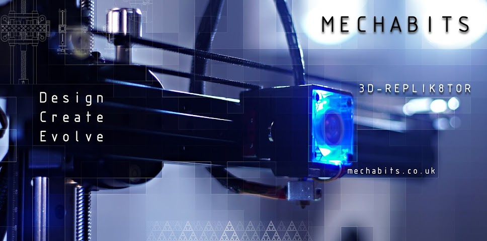 MechaBits   -   3D Printer Design Projects ...---...---....---