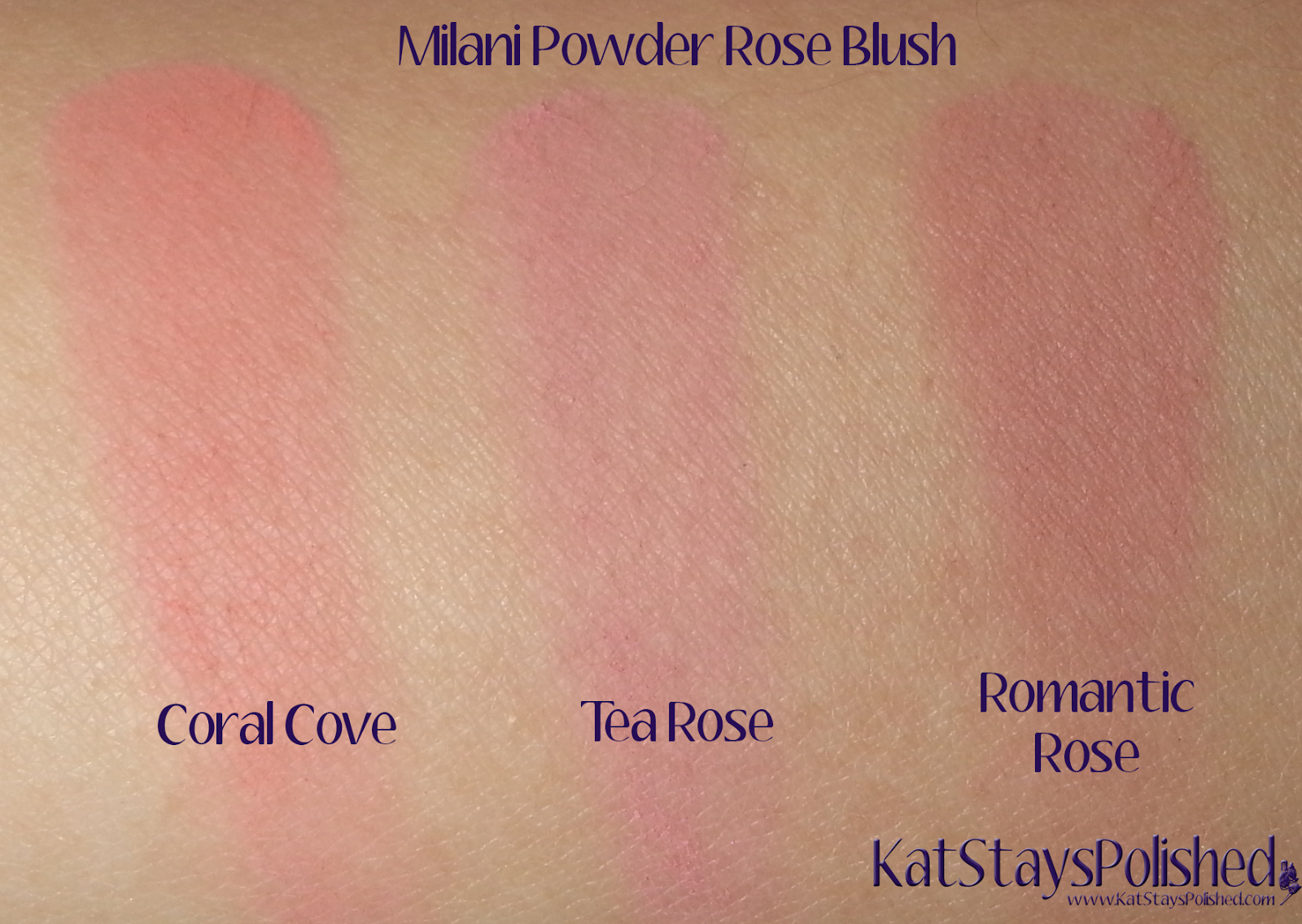 Milani Powder Rose Blush | Kat Stays Polished