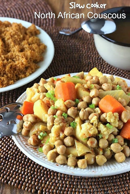 Slow Cooker North African Couscous