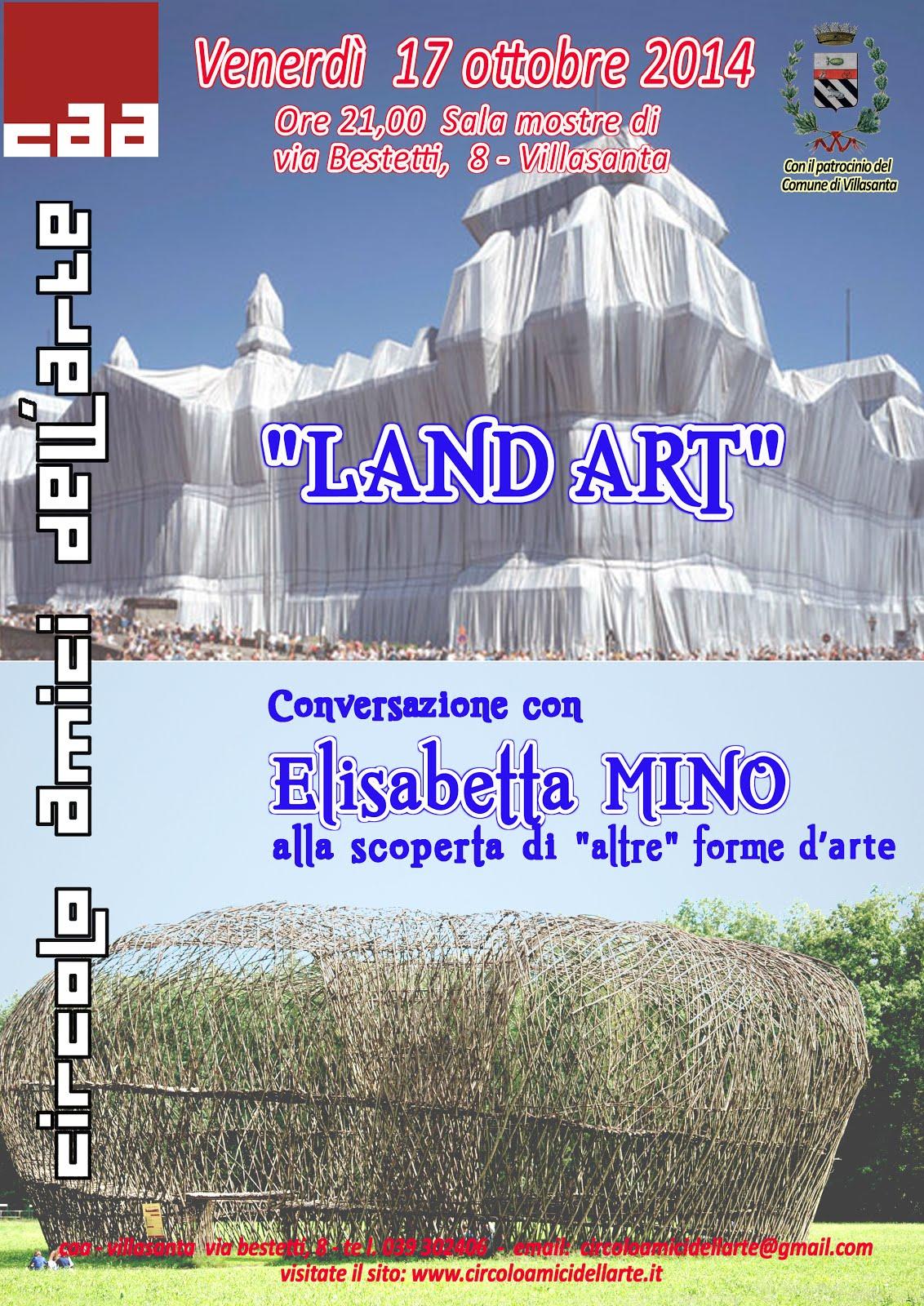 Land Art - CONFERENZA