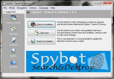 Spybot Search and Destroy Portable