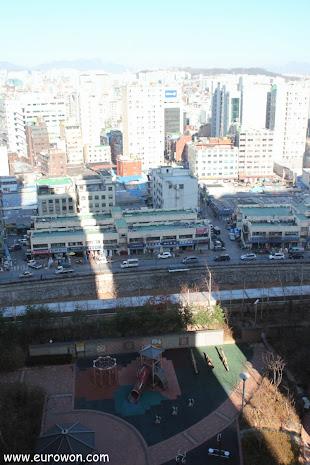 Seúl en un día sin hwangsa