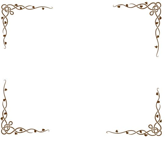 Bordes decorados para tarjetas - Imagui