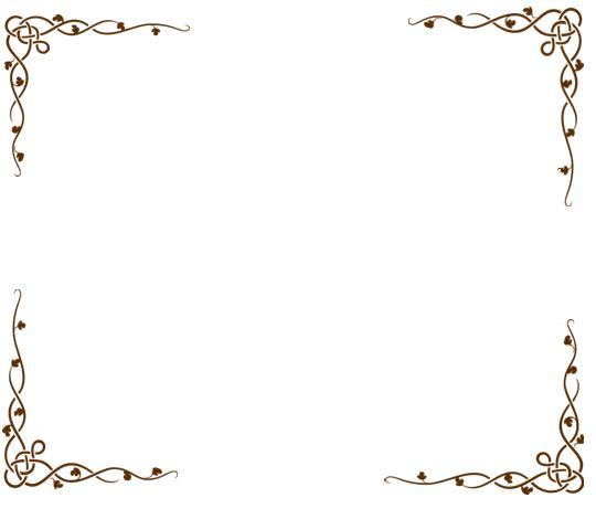 Margenes para trabajos en hojas blancas - Imagui