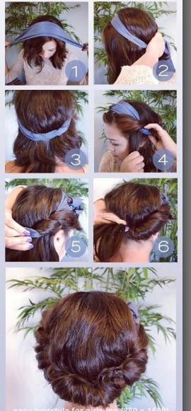 Step By Step Easy Hairstyles Instruction For Long|Medium|Short Hair To Do At Home ~ womenstrendzone