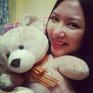 Hehe this is me and my own Ted :p
