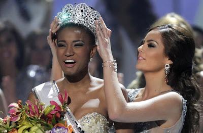 Miss Universe 2011 Winner: Miss Angola Leila Lopes