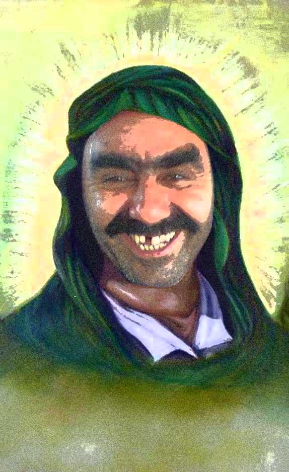 عکس امام نقی ، تمثال امام نقی ، کاریکاتور ، امام دهم شیعیان ، امام نقی ، امام هادی