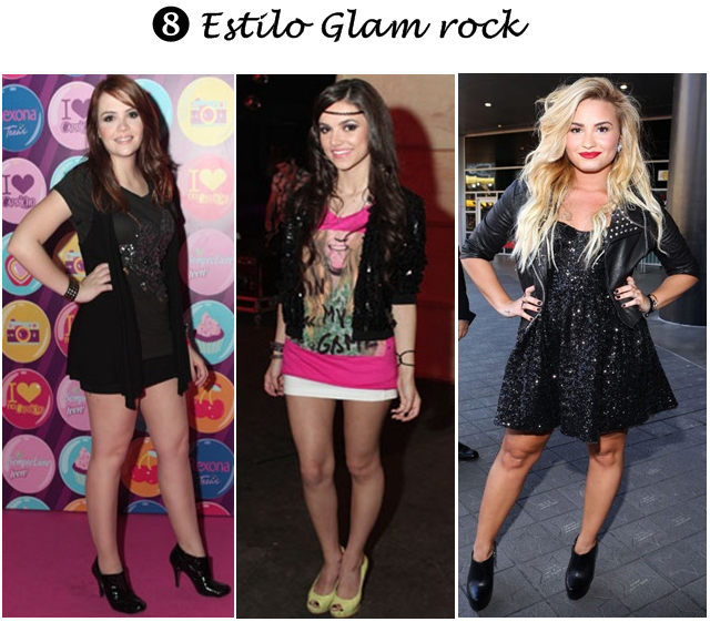 estilo glam rock