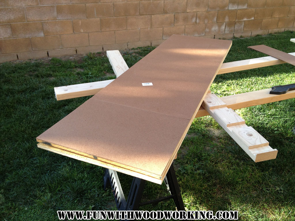 new yankee workshop location. new yankee workshop workbench update \u2013 cutting the plywood benchtop location