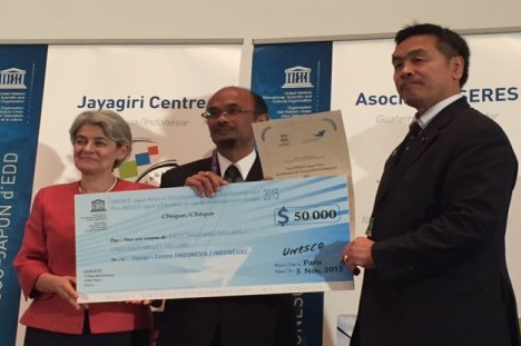 Hebat, Indonesia Raih UNESCO-Japan Prize Bidang Pendidikan