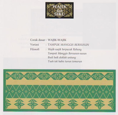 tamadun melayu adat budaya resam riau indonesia: Motif ...