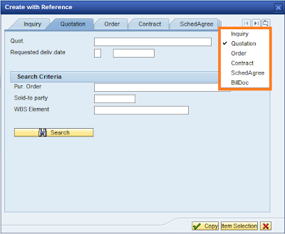 Create document with preceding document in SAP SD
