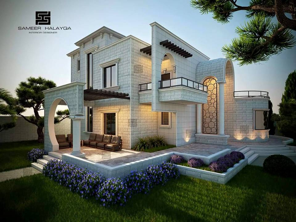 20 exterior villa designs by the best designer decor units for Villa exterior design ideas