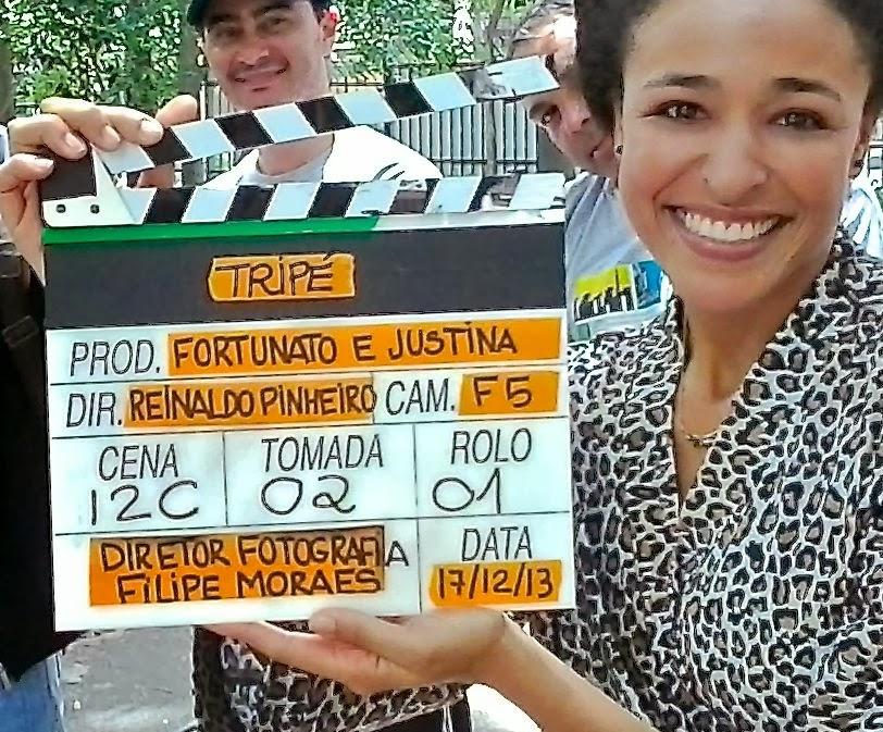 """Filmando """"Fortunato & Justina"""" (estreia nos cinemas em 2014)"""