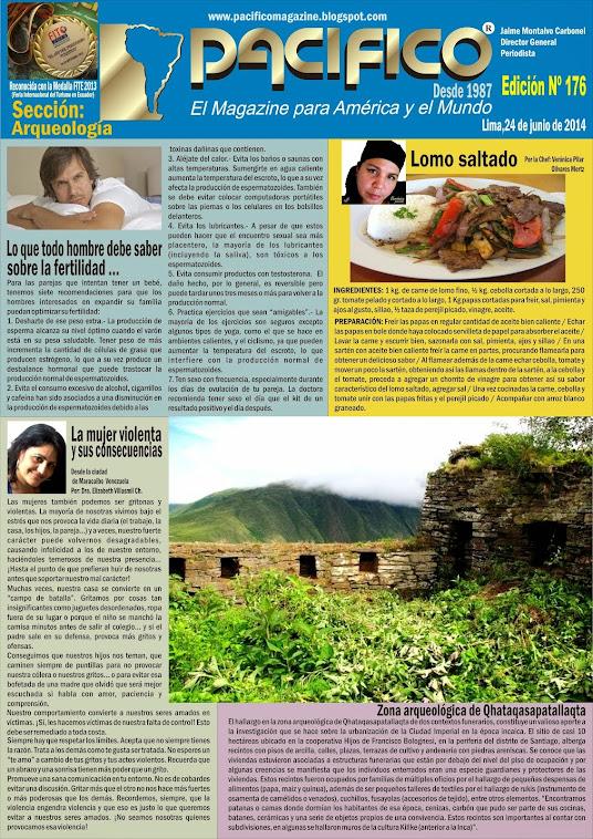 Revista Pacífico Nº 176 Arqueología