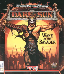 Dark Sun 2 Wake of the Ravager arcade game pc cover