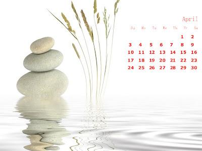 april lake calendar hd