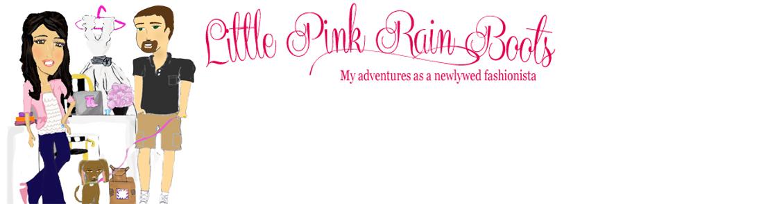 Little Pink Rain Boots