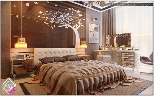 Luxury Bedroom In Detail