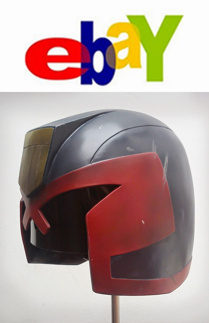 JUDGE DREED HELMET