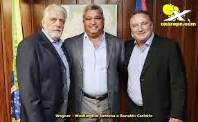 OS CANDIDATO DE WASHINGTON SANTANA