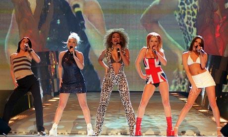 Moda de los 90, Spice Girl, Laa modas vuelven